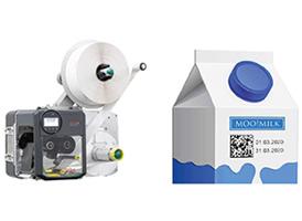 datamatrix маркировка молочной упаковки